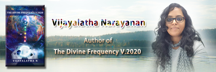 Vijayalatha Narayanan- the divine frequency Author